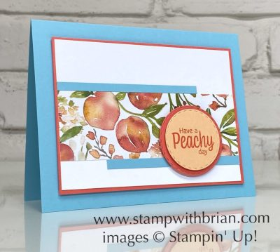 Sweet as a Peach Bundle, Stampin Up! Brian King