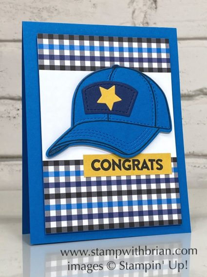 Hats Off, You Are Amazing, Stampin Up!, Brian King