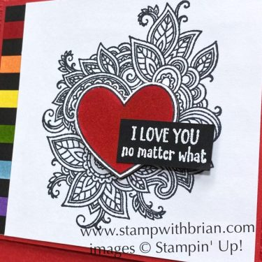 Henna Heart, Through It Together, Stampin Up!, Brian King