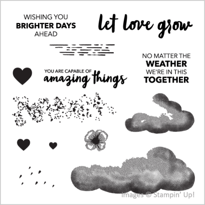 No Matter the Weather Card Kit, Stampin Up!