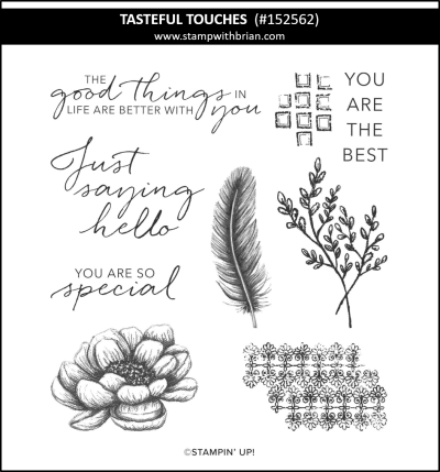 Tasteful Touches, Stampin Up! 152562