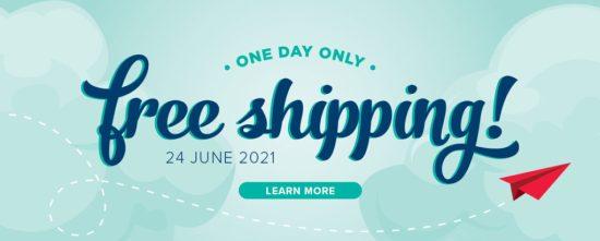 free shipping june