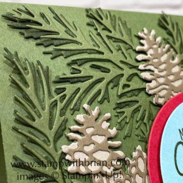 Christmas to Remember Bundle, Stampin Up!, Brian King, Christmas card