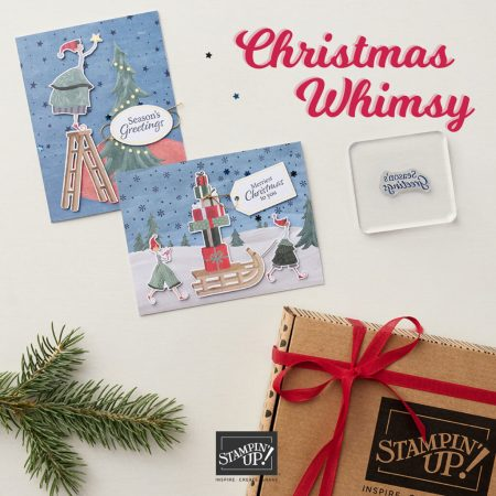 Christmas Whimsy Card Kit, Stampin Up!, 158166