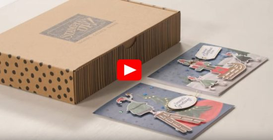 Christmas Whimsy Unboxing Video, Stampin Up!