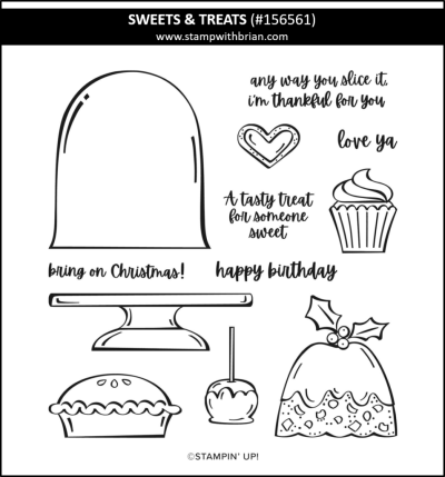 Sweets & Treats, Stampin Up! 156561
