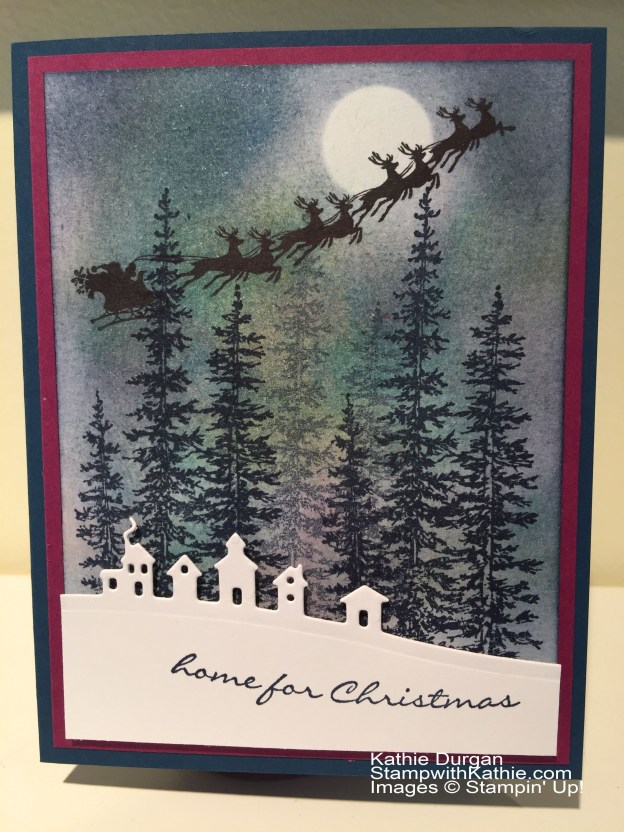 Stampin Up Merry Christmas