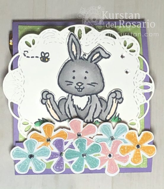 Easter Bunny Matchbook Treat