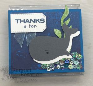 Whale of a Time Cards & Acetate Box