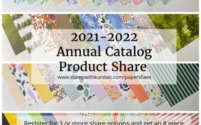 2021-2022 Annual Catalog Product Share Reservations are OPEN!