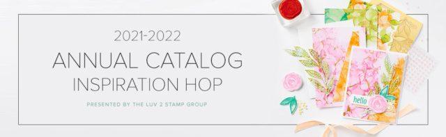 Stampin Up Luv 2 Stamp Group Hop Banner