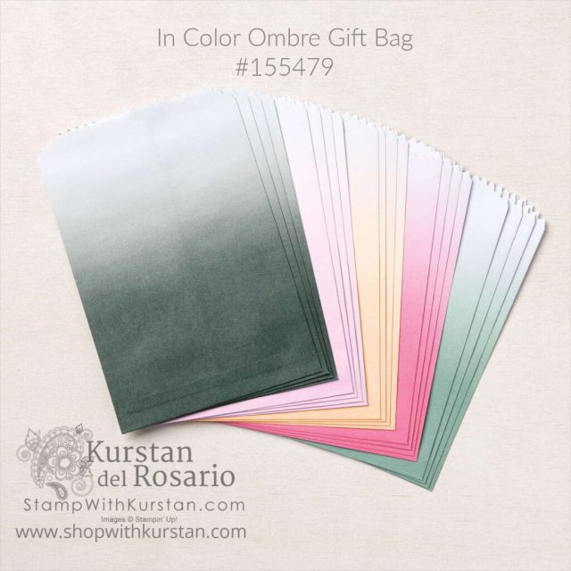 Ombre Gift Bag
