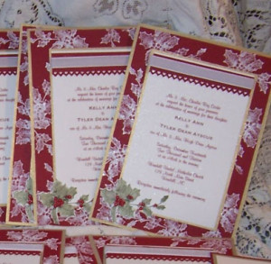 This Particular Wedding Invitation Was Made With Cherry Cobbler Card Stock Metallic Gold And White Shimmer