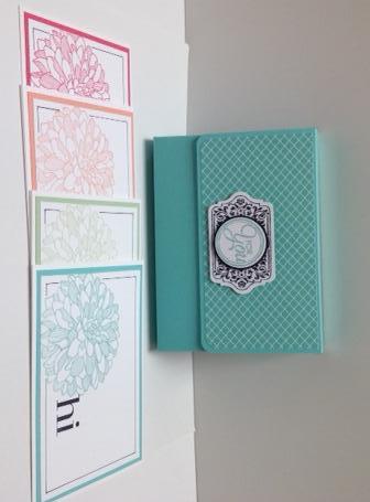 Dahlia Gift Card Set