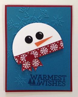 Snowman Warmest Wishes