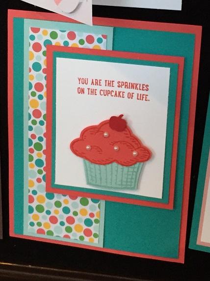Sprinkles of Life Cupcake