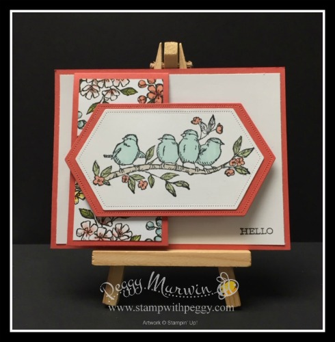 Free As a Bird Stamp Set, Stitched Nested Labels Dies, Bird Ballad Designer Paper, Stamp with Peggy
