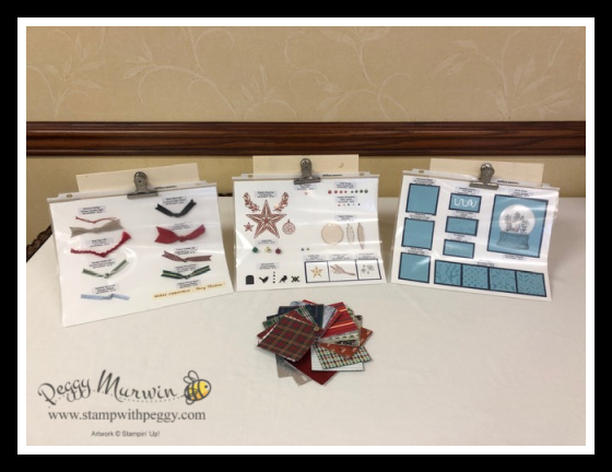 Stampin' Sisters Holiday Hoopla 2019, Stamp with Peggy