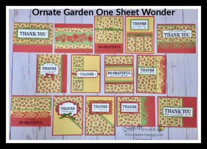 Ornate Garden One Sheet Wonder