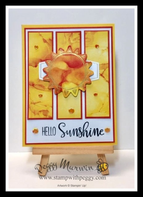 Paper Pumpkin, Box of Sunshine, Stamp with Peggy
