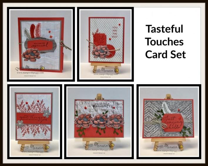 Tasteful Touches Cards & Portfolio