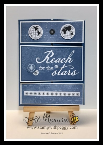 World of Good Memories & More Cards, Masculine, Summer Splash, Stamp with Peggy