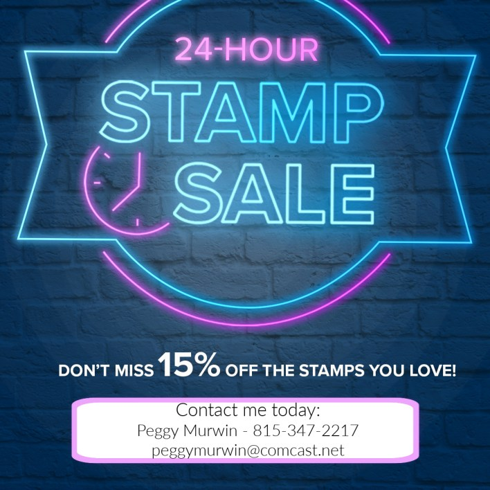 24 Hour Stamp Sale is TODAY Only!!!