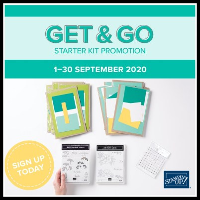 Get & Go Starter Kit, Stamp with Peggy