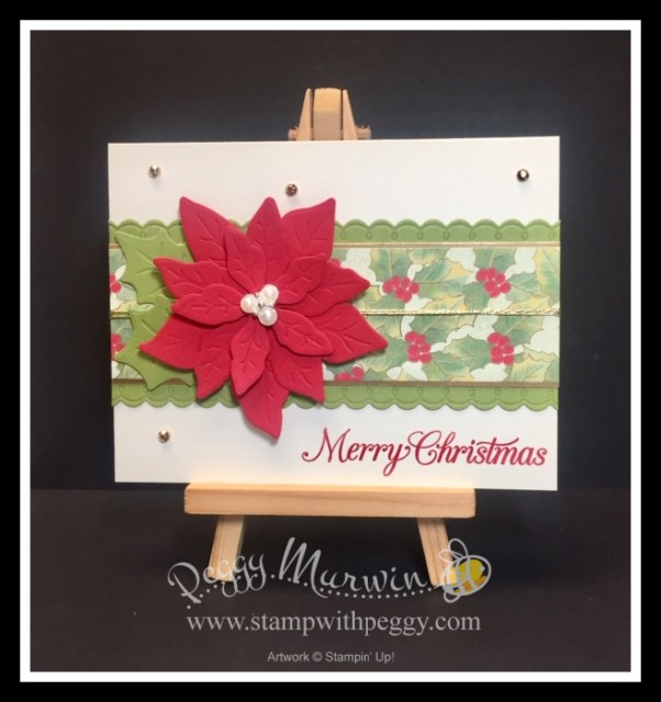 Poinsettia Place Suite, Poinsettia Petals Bundle, Poinsettia Petals Stamp Set, Poinsettia Dies, Poinsettia Place Designer Paper, Christmas, Stamp with Peggy