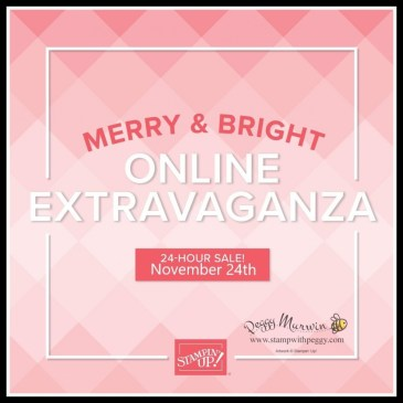Merry & Bright Online Extravaganza, Sale, Stamp with Peggy