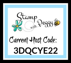 Host Code, December, Stamp with Peggy