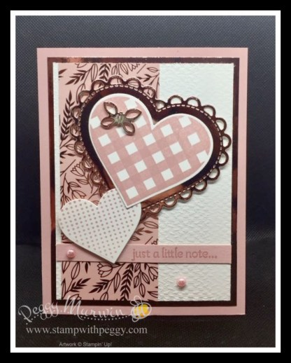Lots of Heart Stamp Set, Love You Always Specialty Paper, Love You Always Foil Sheet, Many Hearts Dies, Pastel Pearls, Stamp with Peggy