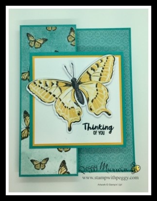 Framed for You Stamp Set, Butterfly Bijou Designer Paper Butterfly Wings Dies, Cabin Fever Stamp Camp, Stamp with Peggy