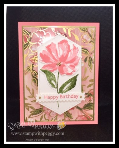 Fine Art Floral Suite, Art Gallery Stamp Set, Floral Gallery Dies, Stitched Nested Labels, Metallic Pearls, Spring, Stamp with Peggy
