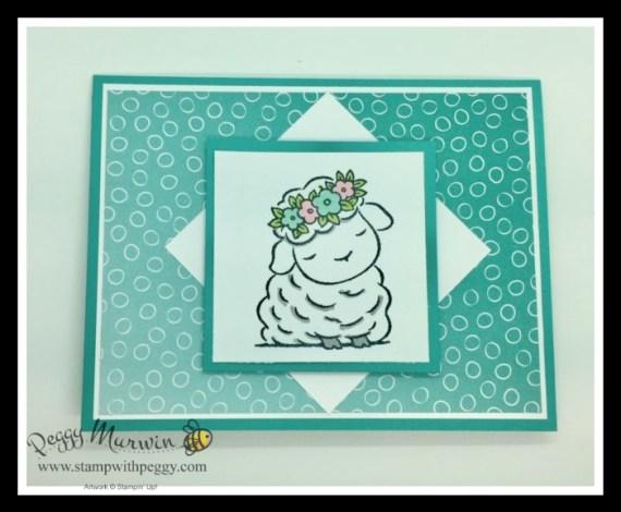 Springtime Joy Stamp Set, Oh So Ombre Designer Paper, Easter, Stamp with Peggy
