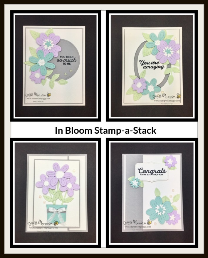 Cabin Fever - In Blooms Spring Stamp-a-Stack