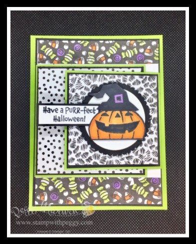 Clever Cats Stamp Set, Cute Halloween Designer Paper, Halloween, Stamp with Peggy