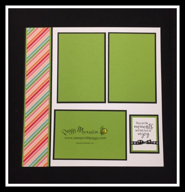 Back to School, Scrapbook Pages, Memories, Stamp with Peggy