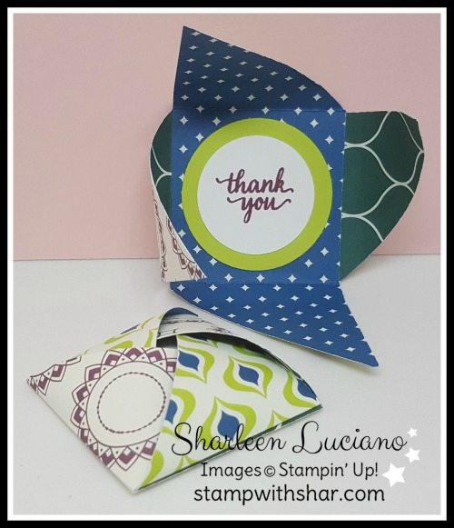 Pinwheel Treat Pouch Stampin' Up