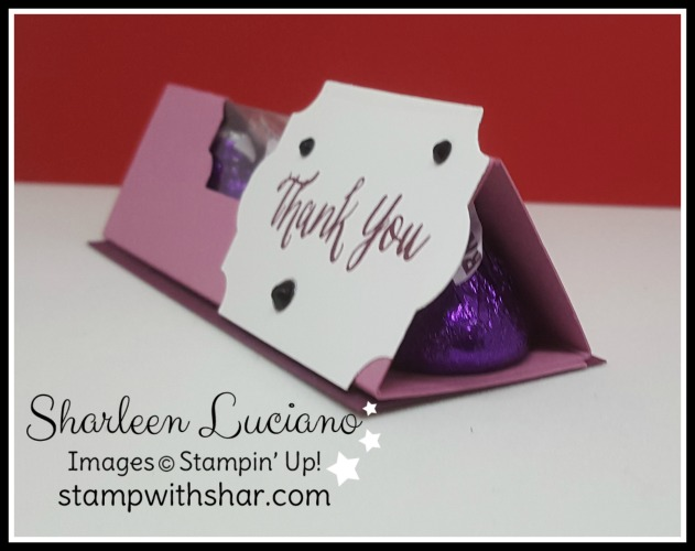 Triangle Kiss Box Stampin' Up