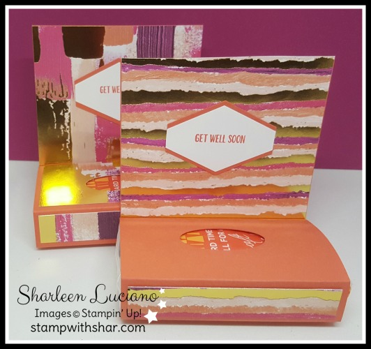 Painted Wit Love Designer Series Paper Stampin' Up!