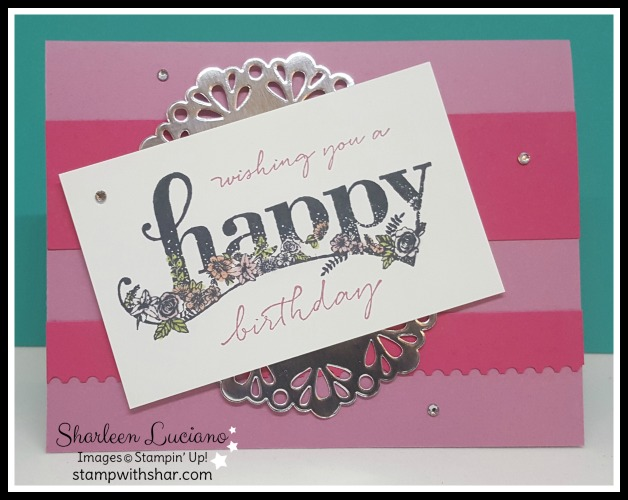 Happy Wishes Stampin' Up!