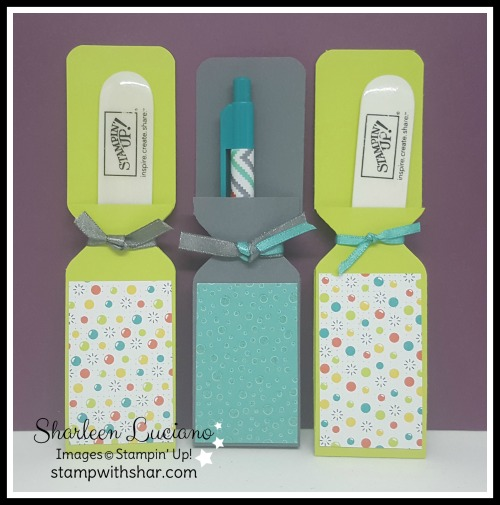 Pen & Bone Folder Sleeves Stampin' Up!