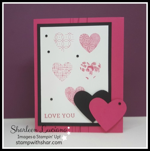 Kissing Technique Stampin' Up!