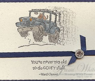 Hit the Road stamp set