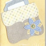 Top Note purse card – too cute