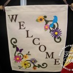 Quilting Square Gift from Stampin Up