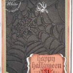 Spider Web fun for Halloween