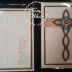 Lattice Cross Cards