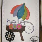 Blossom Umbrella Card